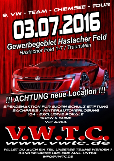 9 vw team chiemsee tour